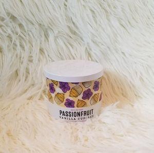 passionfruit vanilla cupcake